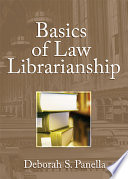 Basics Of Law Librarianship book