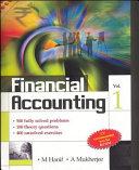 FINANCIAL ACCOUNTING VOL 1