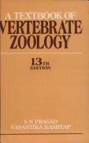 A Textbook of Vertebrate Zoology