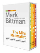The Mini Minimalist Column Presented In A Four Volume Miniature Slipcase
