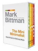 The Mini Minimalist Column Presented In A Four Volume Miniature