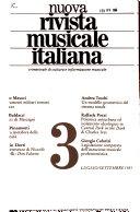 Nuova rivista musicale italiana