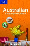 Australian Language Culture