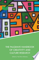 The Palgrave Handbook Of Creativity And Culture Research