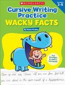 Cursive Writing Practice  Wacky Facts