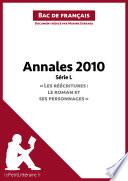 Bac de fran  ais 2010   Annales S  rie L  Corrig