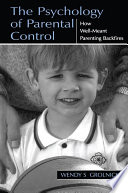 The Psychology Of Parental Control