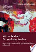 Wiener Jahrbuch für Kurdische Studien