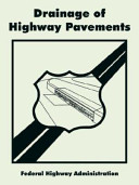 Drainage of Highway Pavements