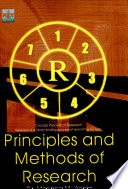 Principles and Methods of Research  2006 Ed