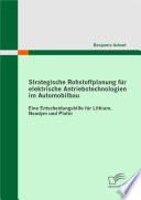 Strategische Rohstoffplanung fr elektrische Antriebstechnologien im Automobilbau