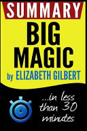 download ebook big magic summary pdf epub