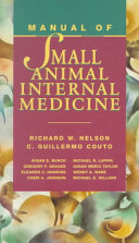 Book Manual de medicina interna de pequeños animales