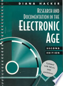 Research and Documentation in the Electronic Age