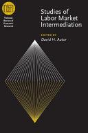download ebook studies of labor market intermediation pdf epub