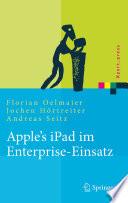 Apple s iPad im Enterprise Einsatz