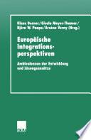 Europäische Integrationsperspektiven