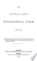 THE LETTER DAY SAINTS  MILLENNIAL STAR Book PDF
