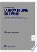 La nuova riforma del lavoro
