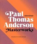 Book Paul Thomas Anderson  Masterworks