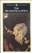 . The Metaphysical Poets .