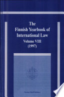 The Finnish Yearbook of International Law 1997