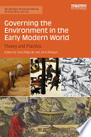 Governing the Environment in the Early Modern World