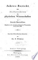 Jahres-bericht über die fortschritte der chemie und mineralogie