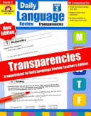 Daily Language Review Transparencies
