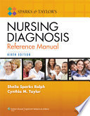 Sparks and Taylor s Nursing Diagnosis Reference Manual