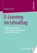E-Learning im Lehralltag