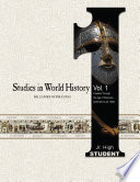 Studies in World History Volume 1  Student