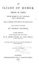 download ebook the iliads of homer, prince of poets pdf epub