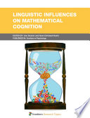 Linguistic Influences On Mathematical Cognition book
