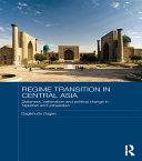 download ebook regime transition in central asia pdf epub
