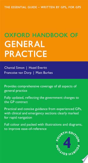 Oxford Handbook of General Practice - ISBN:9780199671038