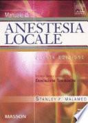 Manuale di anestesia locale  Con DVD