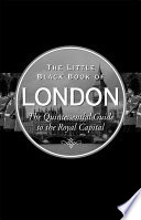 The Little Black Book Of London 2016 Edition