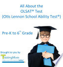 All About the OLSAT   Test