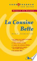 La Cousine Bette   H  de Balzac