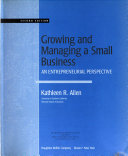 Growing and managing a small business