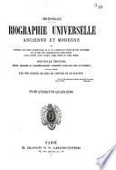Biographie universelle ancienne et moderne ou histoire par ordre alphab  tique  de la vie priv  e et publique de tous les hommes qui
