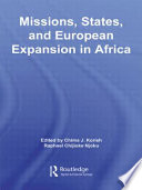 Missions States And European Expansion In Africa