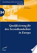 Qualifizierung für den Secondhandsektor in Europa
