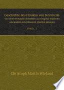 Geschichte des Fr ulein von Sternheim
