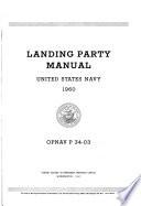 Landing Party Manual, United States Navy Pdf/ePub eBook