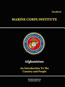 Afghanistan: An Introduction to the Country and People - Handbook
