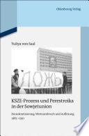 KSZE-Prozess und Perestroika in der Sowjetunion