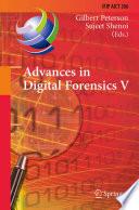 Advances in Digital Forensics V