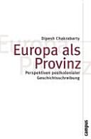 Europa als Provinz